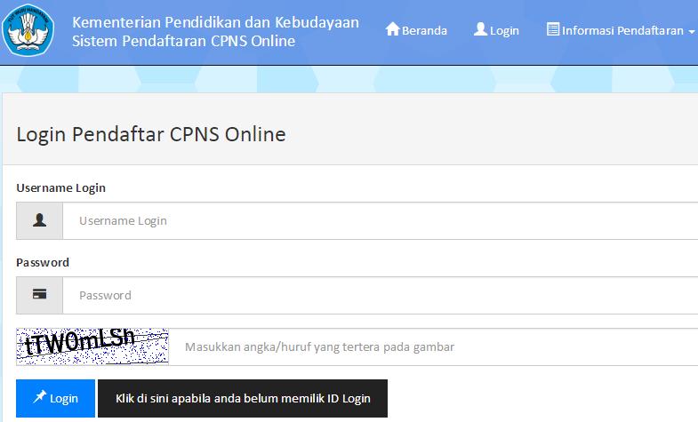 Pendaftaran CPNS Kemendikbud Panselnas dan sscn.bkn.go.id Tahun 2014