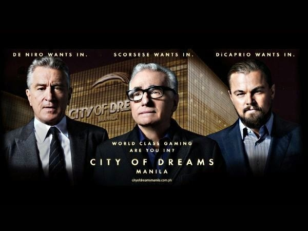 Leonardo DiCaprio, Robert De Niro, Martin Scorsese in The Audition