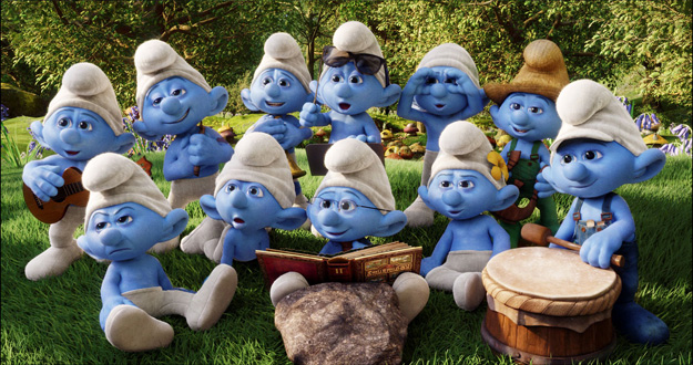 The Smurfs animatedfilmreviews.filminspector.com