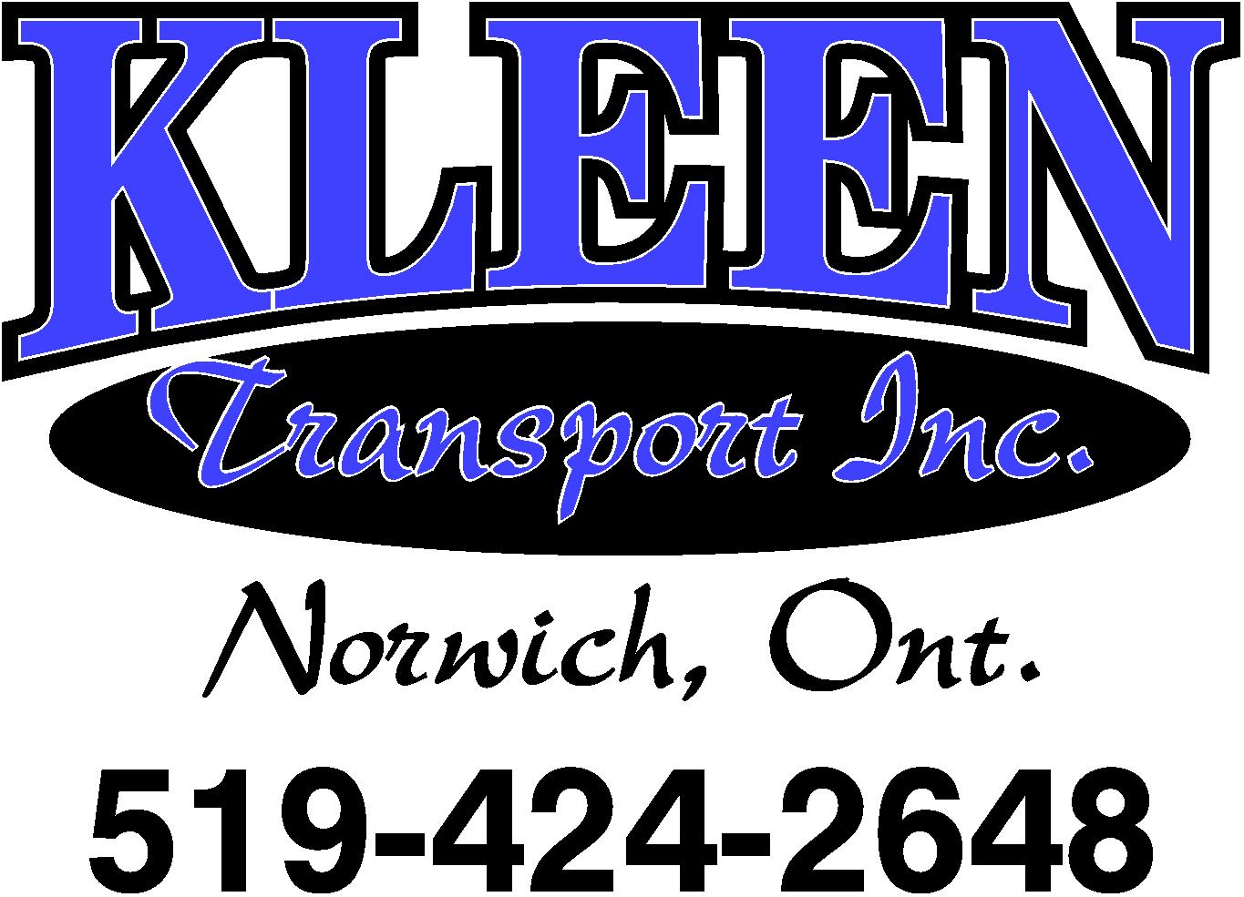 Kleen Transport Inc.