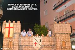 MOROS I CRISTIANS 2014, EMBAJADA MORA, COMPARSA MORA KELVIES