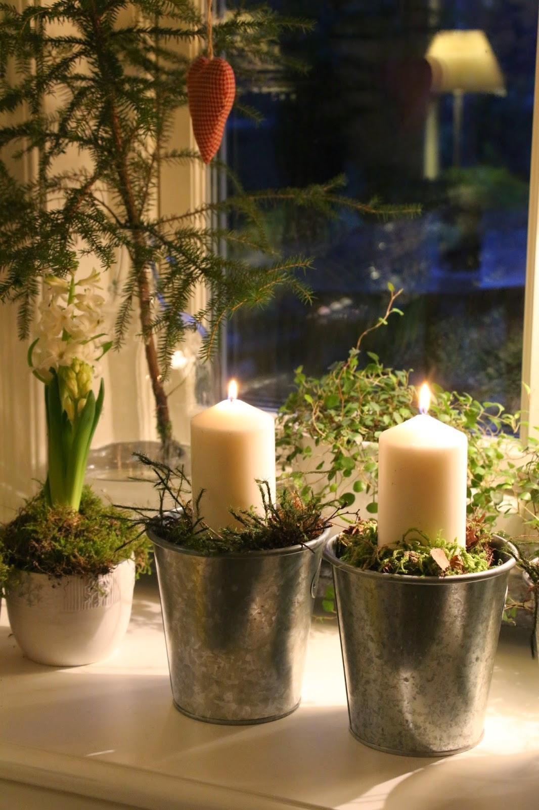 Sabelhagens olivlund : nya krukor i guld koppar på andra advent