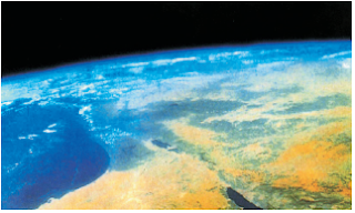 Atmosfer Bumi (Sumber: Ensiklopedia Iptek)