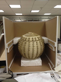 art conservator, shipping and packing of artifacts for travel and exhibit