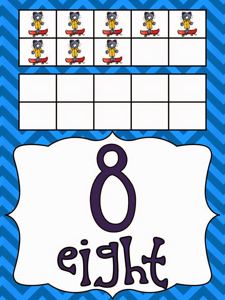 http://www.teacherspayteachers.com/Product/Groovy-Cat-Themed-Number-Posters-0-20-1266239