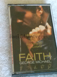 George Michael - Faith Album on cassette tape