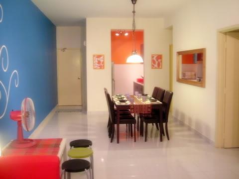 LiFe+LoVe+LaUgH+: :rumah apartment pun boleh deko cantik cantik tau:
