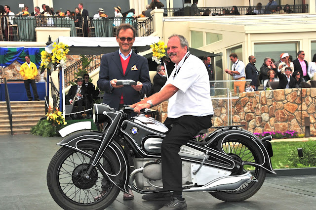 1934 BMW R7  at  Pebble Beach Concours d'Elegance 2012