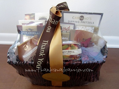 Thank You Balsam Basket review