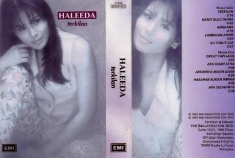 Haleeda - Terkilan MP3