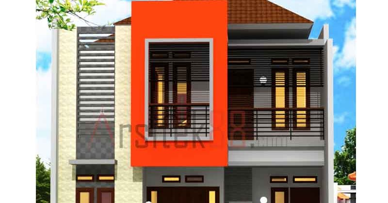 rumah minimalis 2 lantai untuk kavling min 128 m2 blog