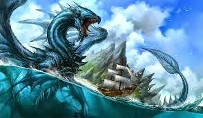 Monstruo del lago Baikal