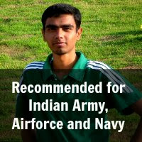 Recommended for Indian Army, Airforce and Navy