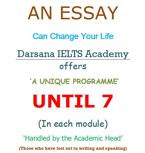 ielts essays academic module
