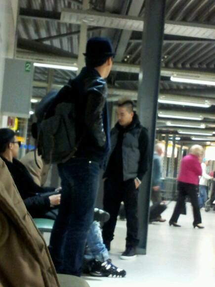 Big Bang at Heathrow Airport