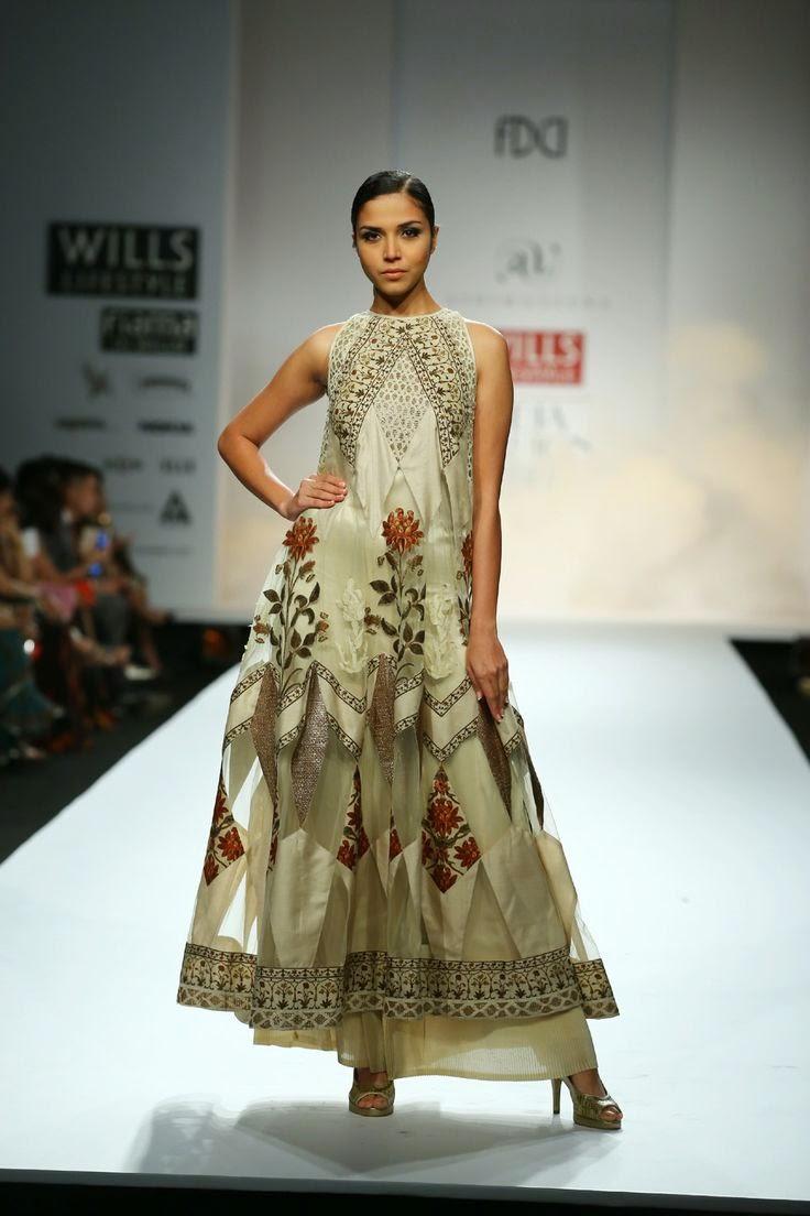Ashima leena show at wills lifestyle india fashion week 2014 vega fashion mom Wills lifestyle fashion week