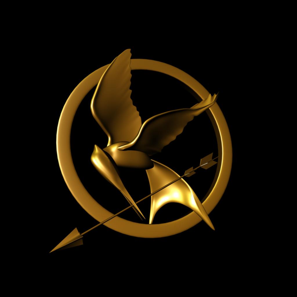 hunger games mockingjay symbol pin mcsg logo transparent