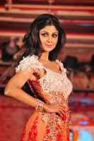 Shilpa Shetty walks for Rohhit Verma's show for Marigold Watches