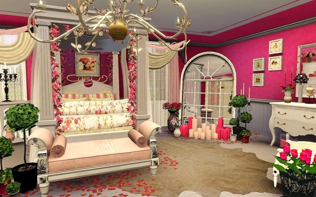 Peinture Chambre Fille Mansardée : chambre romantique moderne