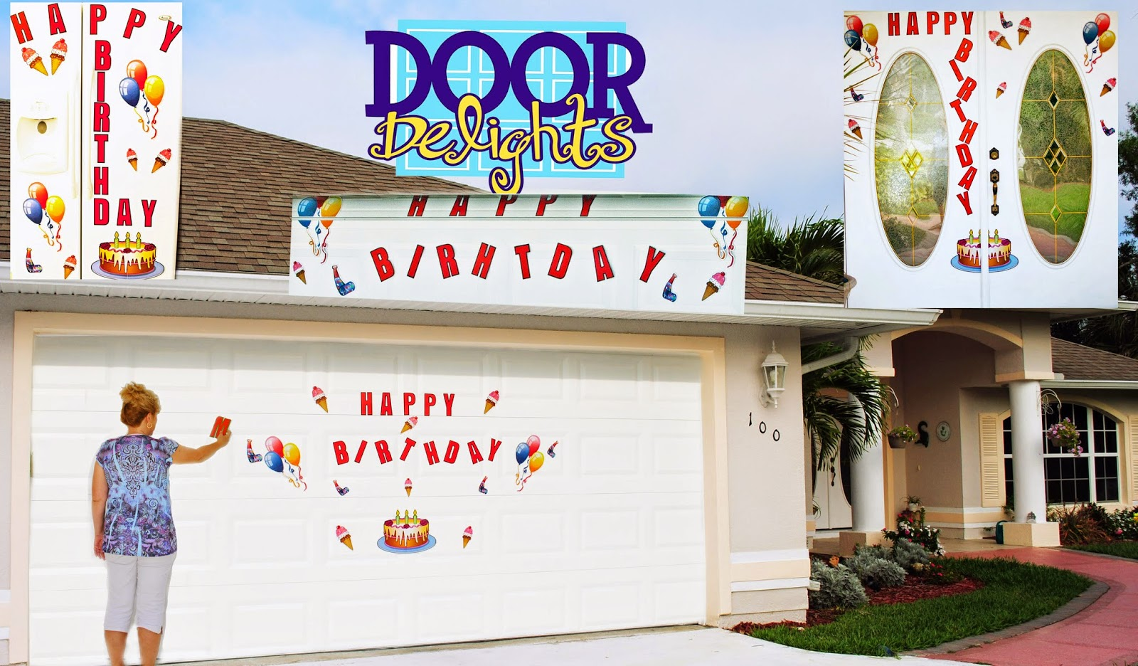 Was I Grateful That I Own Door Delights For My Garage Door, YES.