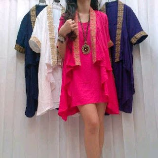 Dress Rayon Bordir Kode  MGT-429