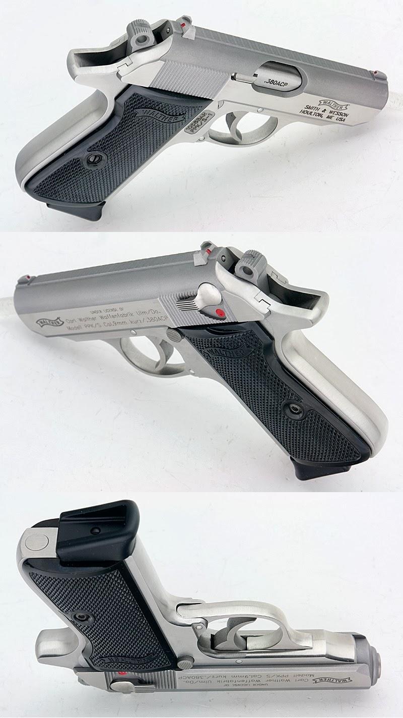 TINCANBANDIT\'s Gunsmithing: Smoothing a Walther PPK/S grip frame