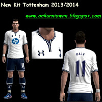 Download New Kit Tottenham Hotspurs 2013/2014 by diavolo86