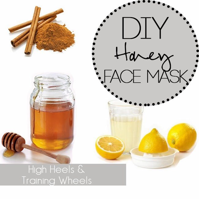 Homemade honey facial mask