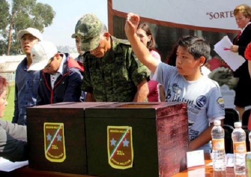 Cartilla Militar en Toluca, sorteos