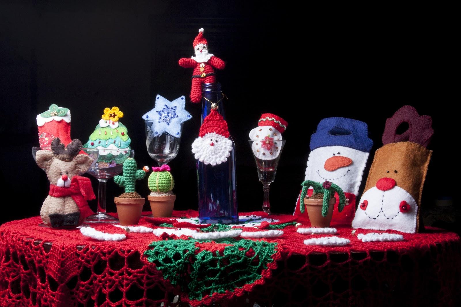 Tejidos manualidades y algo mas peque os detalles de navidad - Detalles de navidad manualidades ...