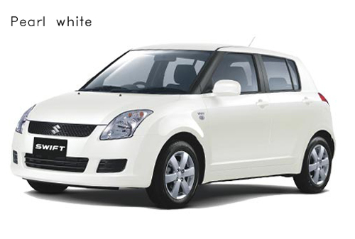 swift pearl white