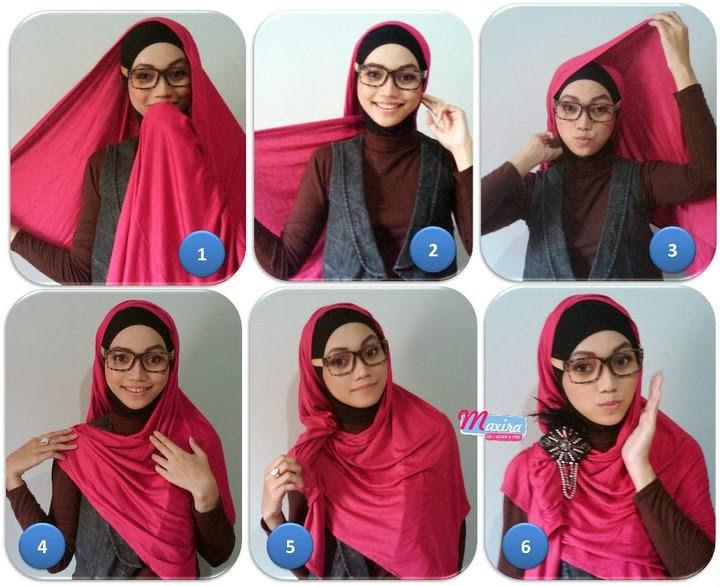 ... Style on Pinterest | Hijabs, Hijab tutorial and Hijab street styles