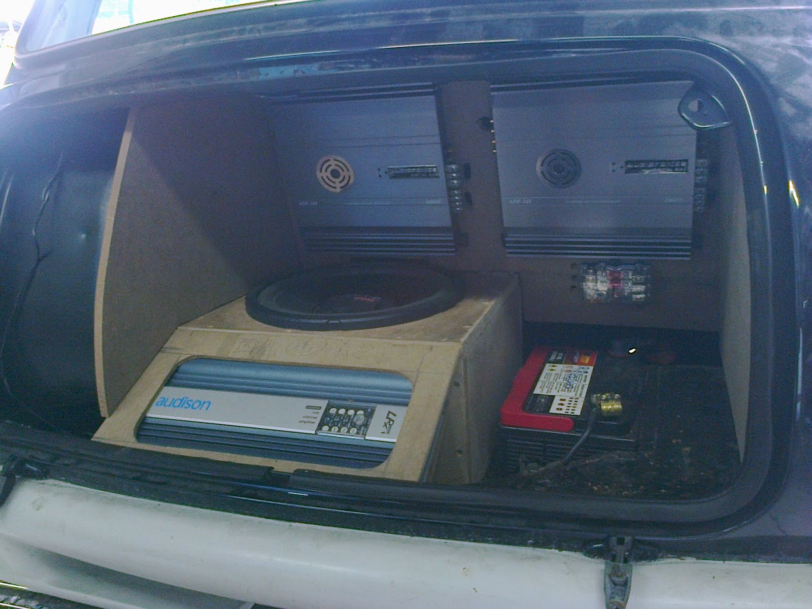 Eb Audio Mini Cooper Car Customize Installation Work 3 Way Active Sq System