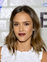 Jessica Alba Long Wavy Cut Hairstyle