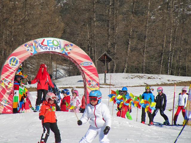 fiaccolata per bambini, girandolata di Carnevale a Cortina