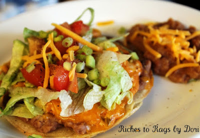 Chicken Salsa Cream Tostadas
