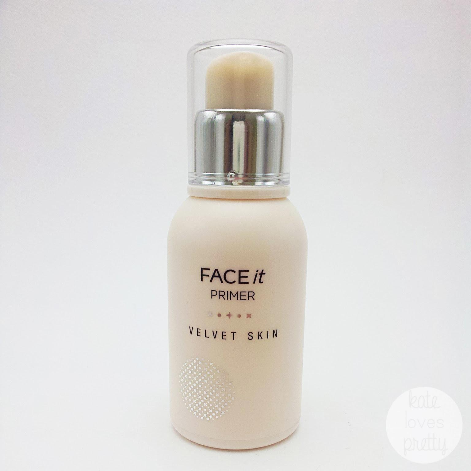 Kate Loves Pretty Review The Face Shop Face It Velvet Skin Primer