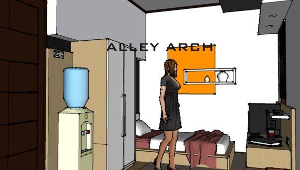 itulah Desain Interior Ruangan I Inspirasi Desain Kamar Kos by ALLEY