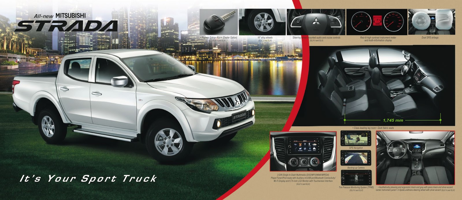 It will be exported to over 150 countries worldwide and is manufactured solely at mitsubishi motors thailand