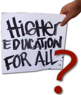 Higher education for all?