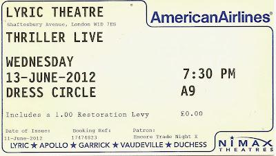Thriller Live  Lyric Theatre ticket