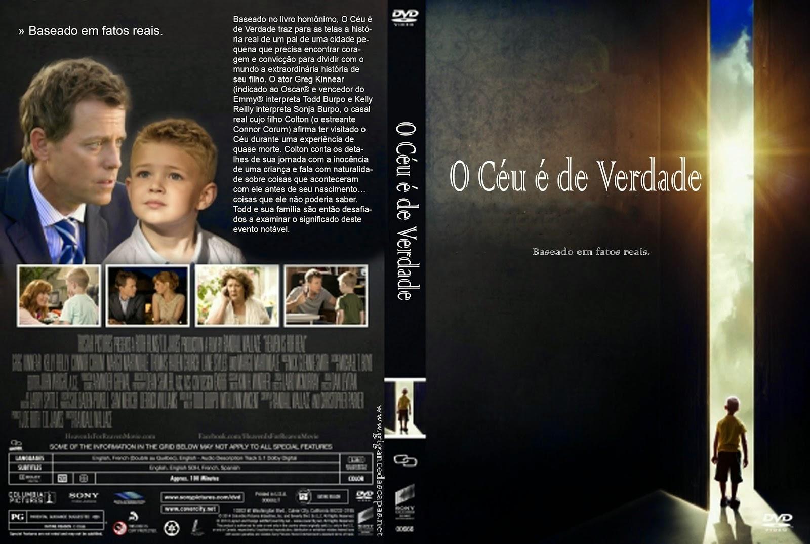 Download O Céu é de Verdade DVDRip XviD Dual Áudio O C C3 A9u  C3 A9 de Verdade   Capa Filme DVD