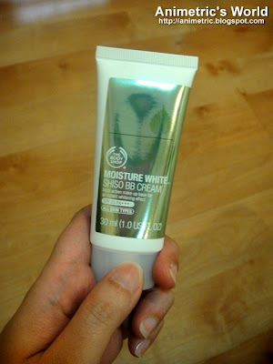 The Body Shop Moisture White Shiso BB Cream review