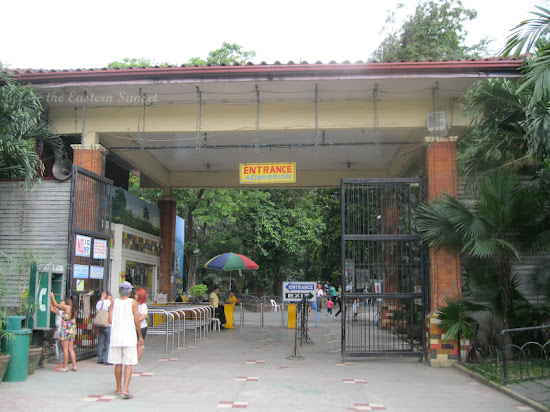 Entrance gate of Manila Zoo