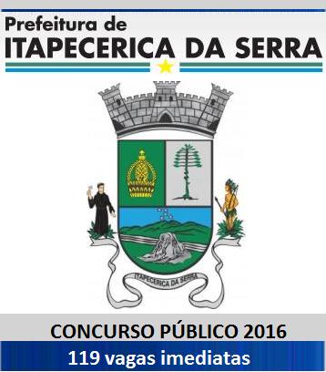 Apostila Concurso da Prefeitura de Itapecerica da Serra SP - 2016