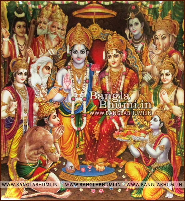Shri Ram Sita Laxman Hanuman Wallpaper HD Free Download - Indian Gods Free Wallpapers