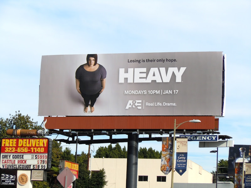 Heavy TV billboard