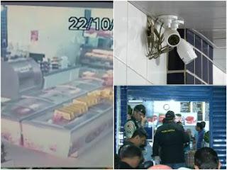 Câmeras gravam assalto em que policial federal mata bandido na Paraíba; assista