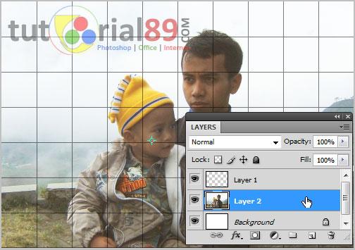 Cara membuat efek grid/kotak dengan photoshop