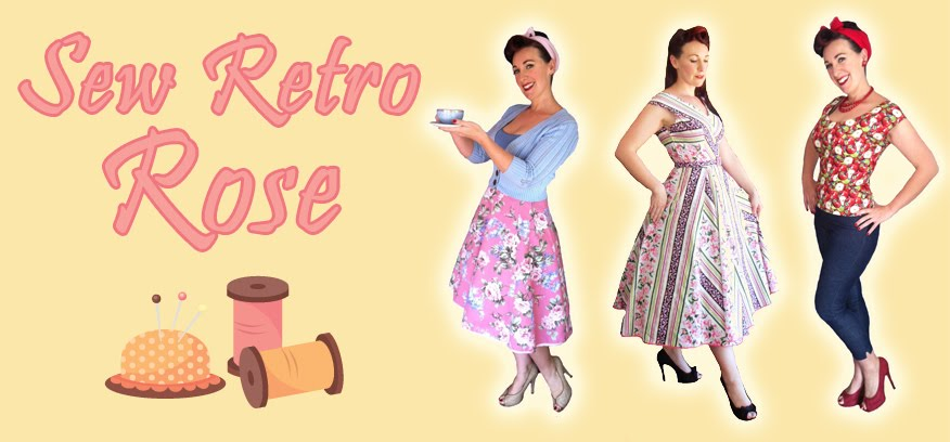 Sew Retro Rose